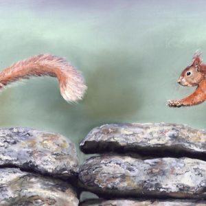 Squirrels Yorkshire Art