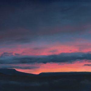 Last Light Over Wensleydale